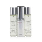 Chanel Allure Homme Sport Cologne Travel Spray & Two Refills