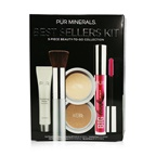 PUR (PurMinerals) Best Sellers Kit (5 Piece Beauty To Go Collection) (1x Primer, 1x Pressed Powder, 1x Bronzer, 1x Mascara, 1x Brush) - # Light