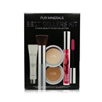PUR (PurMinerals) Best Sellers Kit (5 Piece Beauty To Go Collection) (1x Primer, 1x Powder, 1x Bronzer, 1x Mascara, 1x Brush) - # Blush Medium