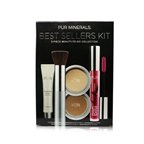 PUR (PurMinerals) Best Sellers Kit (5 Piece Beauty To Go Collection) (1x Primer, 1x Powder, 1x Bronzer, 1x Mascara, 1x Brush) - # Golden Medium