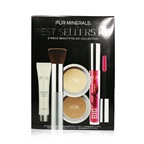 PUR (PurMinerals) Best Sellers Kit (5 Piece Beauty To Go Collection) (1x Primer, 1x Powder, 1x Bronzer, 1x Mascara, 1x Brush) - # Tan