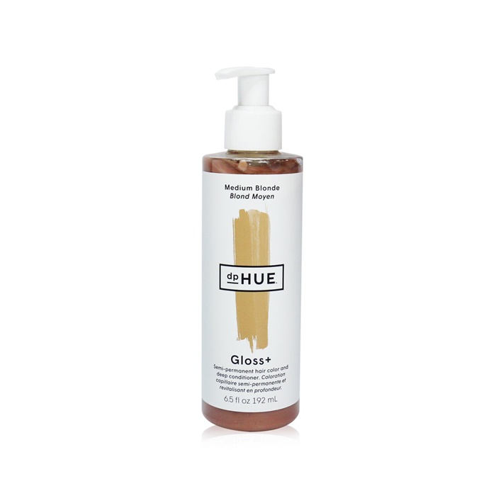 dpHUE Gloss+ Semi-Permanent Hair Color and Deep Conditioner - # Medium Blonde