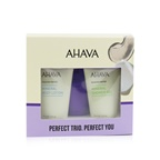 Ahava Deadsea Water Perfect Mineral Body Trio Set: Hand Cream 40ml + Body Lotion 40ml + Shower Gel 40ml