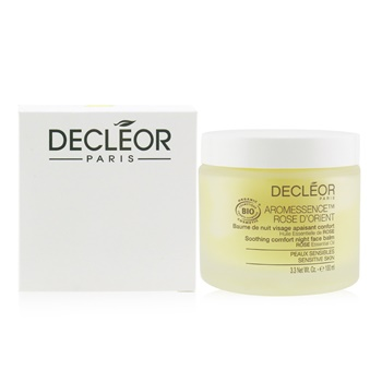 Decleor Aromessence Rose D'Orient Soothing Comfort Night Face Balm - For Sensitive Skin (Salon Size)