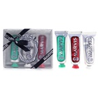 Marvis Travel Set: 1xClassic Strong Mint Toothpaste+1xWhitening Mint Toothpaste+1xCinnamon Mint Toothpaste