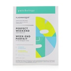 Patchology FlashMasque 5 Minute Sheet Mask - Perfect Weekend Sheet Mask Kit: (Hydrate, Illuminate, Milk Peel)