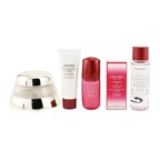 Shiseido Time Fighting Ritual Bio-Performance Advanced Super Revitalizing Cream Set (For All Skin Types): Super Revitalizing Cream 50ml + Cleansing Foam 15ml + Ultimune Concentrate 10ml + Ultimune Eye Concentr