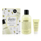 Philosophy The Purity Prep Set - Cleanse & Moisturize Duo: One-Step Facial Cleanser 236.6ml, Ultra-Light Moisturizer 15ml