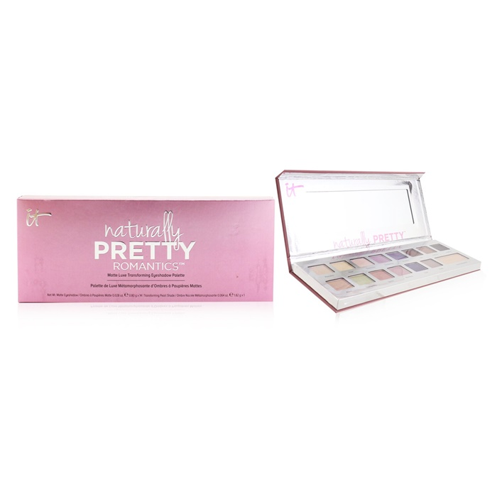 IT Cosmetics Naturally Pretty Romantics Matte Luxe Transforming Eyeshadow Palette
