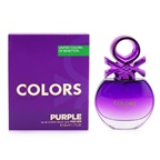 Benetton Colors Purple EDT Spray