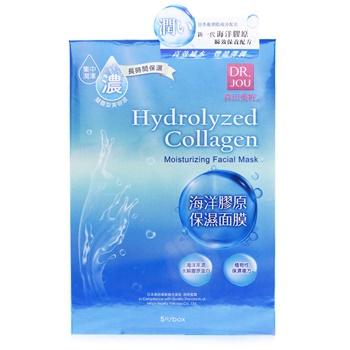 DR. JOU (By Dr. Morita) Hydrolyzed Collagen Moisturizing Facial Mask