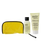 Philosophy 2-Pieces Get Set: One-Step Facial Cleanser 60ml + Ultra-Light Mosturizer 60ml