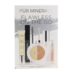 PUR (PurMinerals) Flawless On The Go 5 Piece Bestsellers Kit (1x Mini Primer, 1x Mascara, 1x Mineral Glow, 1x Mini Lip Oil, 1x Mini Mist)