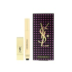 Yves Saint Laurent All Lights On Me Set (1xTouche Eclat  2.5ml/0.08oz + 1x Mini Rouge Pur Couture) - #2 (Luminous Ivory)