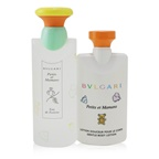 Bvlgari Petits Et Mamans Coffret: EDT Spray 100ml/3.4oz + Gentle Body Lotion 75ml/2.5oz + Toiletry Pouch