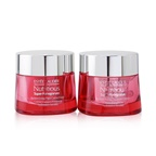 Estee Lauder Nutritious Super-Pomegranate Day & Night Radiance Set: Moisture Creme 50ml+ Night Creme/Mask 50ml