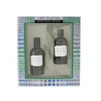 Geoffrey Beene Grey Flannel Coffret: EDT Spray 120ml/4oz + After Shave Lotion 120ml/4oz (Green Box)