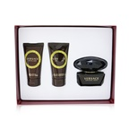 Versace Crystal Noir Coffret: EDT Spray 50ml/1.7oz + Bath & Shower Gel 50ml/1.7oz + Body Lotion 50ml/1.7oz