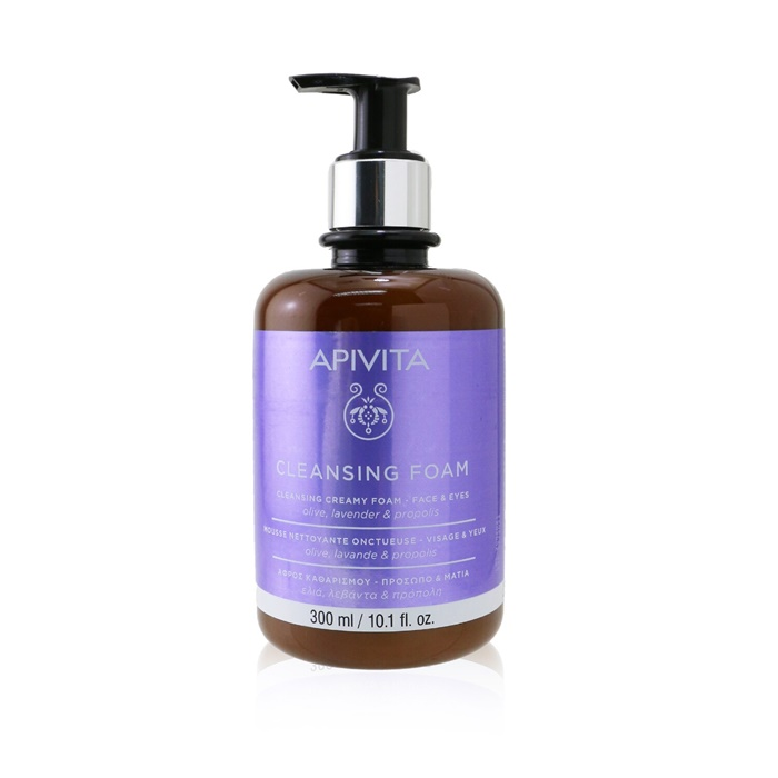 Apivita Cleansing Creamy Foam - Face & Eyes (Limited Edition)