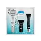 Dr. Brandt Festive & Flawless Kit: Pore Refiner Primer 30ml+ No More Baggage 15g+ Microdermabrasion 15g+ Hyaluronic Facial Cream 10g