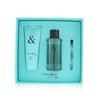 Tiffany & Co. Tiffany & Love For Him Coffret: EDT Spray 90ml/3oz + Shower Gel 100ml/3.4oz + EDT 4ml/0.13oz