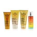 Nuxe Nuxe Sun My Summer Ritual Coffret: Melting Cream High Protection For Face SPF 50 30ml/1oz + After-Sun Hair & Body Shampoo 50ml/1.6oz + Refreshing After-Sun Lotion For Face & Body 50ml/1.6oz + Deliciou