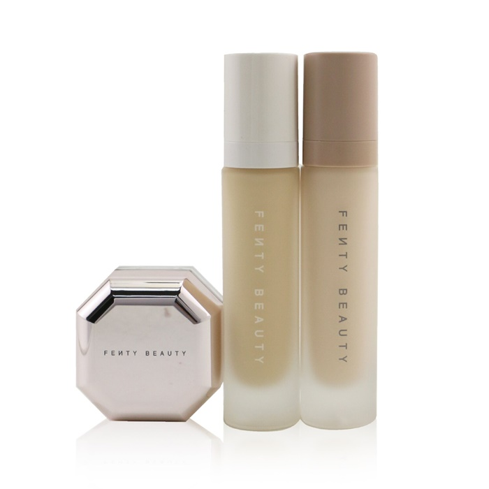 Fenty Beauty by Rihanna Pro Filt'R Soft Matte Complexion Kit: Foundation 32ml + Primer 32ml + Instant Retouch Setting Powder 7.8g - #120