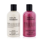 Philosophy Under The Mistletoe 2-Pieces Set: Shampoo, Shower Gel & Bubble Bath Gel 240ml + Body Lotion 240ml