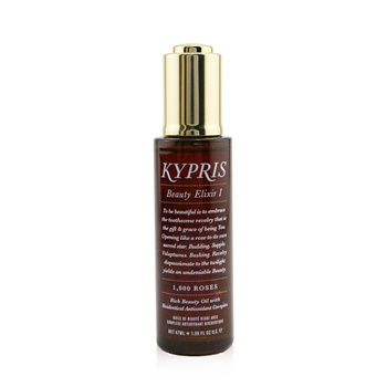 Kypris Beauty Elixir I - Rich Beauty Oil With Bioidentical Antioxidant Complex (With 1000 Roses)