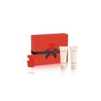 Narciso Rodriguez Red Xmas Set: EDP Rouge 50ml + Shower Gel 75ml + Body Lotion 75ml