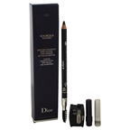 Christian Dior Powder Eyebrow Pencil With Brush and Sharpener - 093 Black