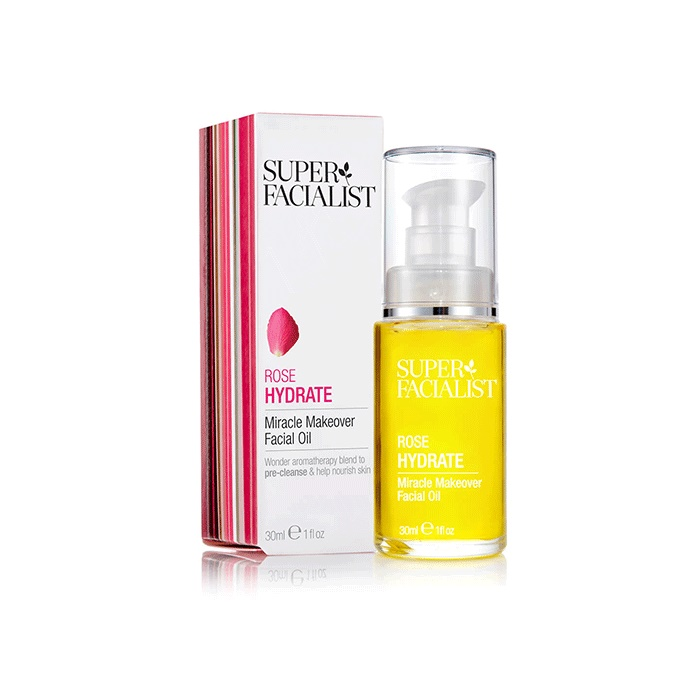 Super Facialist Rose Hydrate Mircale Makeover Facial Oil