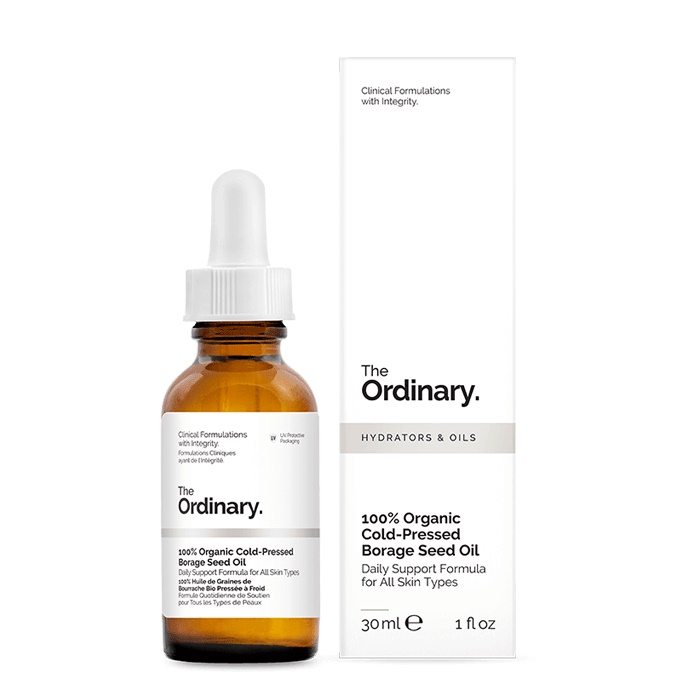 The Ordinary 100% Organic Cold-Pressed Borage Seed Oil