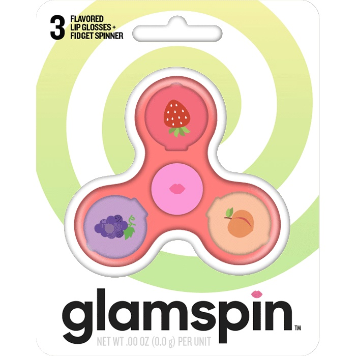 Taste Beauty Glamspin Flavoured Lip Glosses & Fidget Spinner