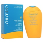 Shiseido Tanning Emulsion SPF 6 (For Face & Body) Sun Care