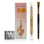 Billion Dollar Brows 60 Seconds to Contoured Brows Kit (1x Brow Duo Pencil, 1x Smudge Brush, 1x Duo Sharpener)