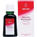 Weleda Oral Ratanhia Mouthwash Concentrate