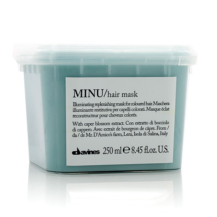 Davines Minu Illuminating Replenishing Mask (For Coloured Hair)