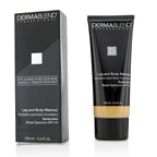 Dermablend Leg and Body Makeup Buildable Liquid Body Foundation Sunscreen Broad Spectrum SPF 25 - #Light Natural 20N
