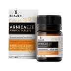 Brauer ArnicaEze Arnica Tablets () 60t