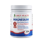 Cabot Health Magnesium Ultra Potent Strawberry Powder