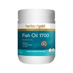 Herbs of Gold Fish Oil 1700 Odourless