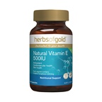 Herbs of Gold Herbs Of Gold Natural Vitamin E 500I.U.