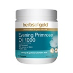 Herbs of Gold Evening Primrose Oil 1000