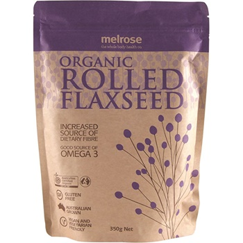 Melrose Organic Rolled Flaxseed