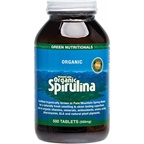 MicrOrganics Green Nutritionals Mountain Organic Spirulina 500mg