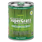 MicrOrganics Green Nutritionals Organic Australian SuperGrass Powder