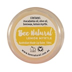 Bee Natural Lip Balm Jar Lemon Myrtle