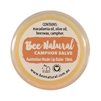 Bee Natural Lip Salve Jar Camphor
