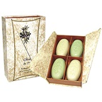 Clover Fields Gift Box Olive & Fig Soap x
